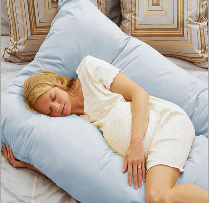 u pattern oversized total body support maternity pregnancy nurse pillow u shape comfort donut baby pillow 1 45m x 0 8m