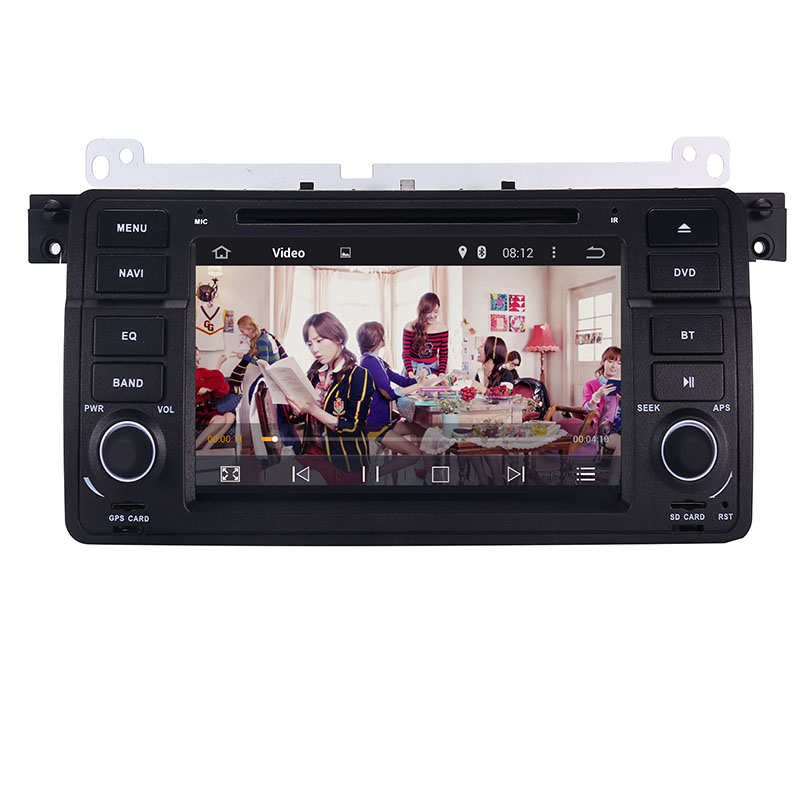 Image 4 - Factory Price 1 Din Car DVD Player for BMW E46 M3 With GPS Bluetooth Radio RDS USB Steering wheel Canbus Free Map+Camera MIC-in Car Multimedia Player from Automobiles & Motorcycles