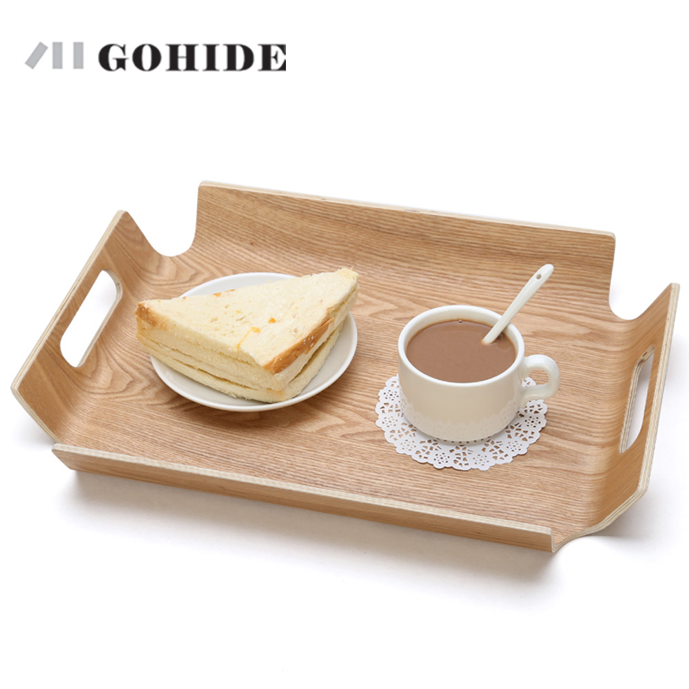 popular modern traybuy cheap modern tray lots from china modern  - juh modern rectangular large size inch natural wood tray dish fruit foodcup tableware european style