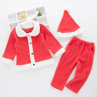 Christmas Pajamas Dress For Baby Girls Kids Boy Vestidos Infant Baby Girls XMAS Outfits Clothes Tops