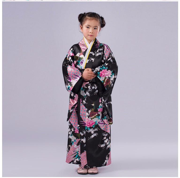 d782bb8ec Alta calidad Cosplay niño vestido japonés bebé muchacha del vestido ...