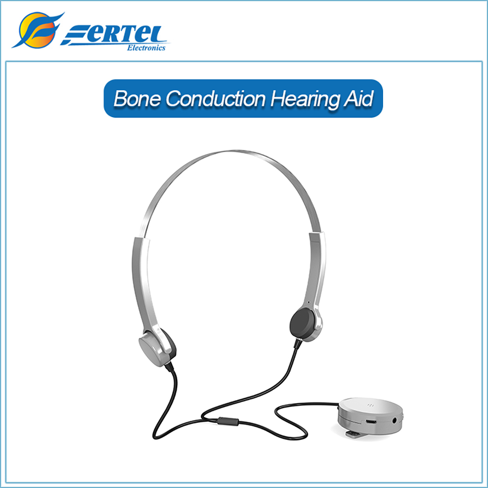 ФОТО Health Care Bone Conduction Headphone Hearing Aid Care Best Sound Amplifier Hearing Aids for People with Hearing Impairment