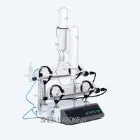 Automatische dubbele zuiver water distilleerder SZ-93A veiligheid warmte behoud stralingsbescherming gedestilleerd water machine 220 V 1 pc