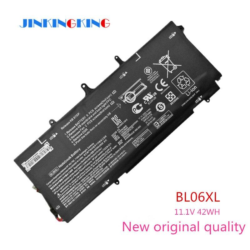 D'origine BL06XL Batterie Neuve pour HP Elitebook 1040 G1 G2 BL06XL HSTNN-DB5D BL06042XL HSTNN-W02C 722297-001 722236-171 11.1 V 42WH