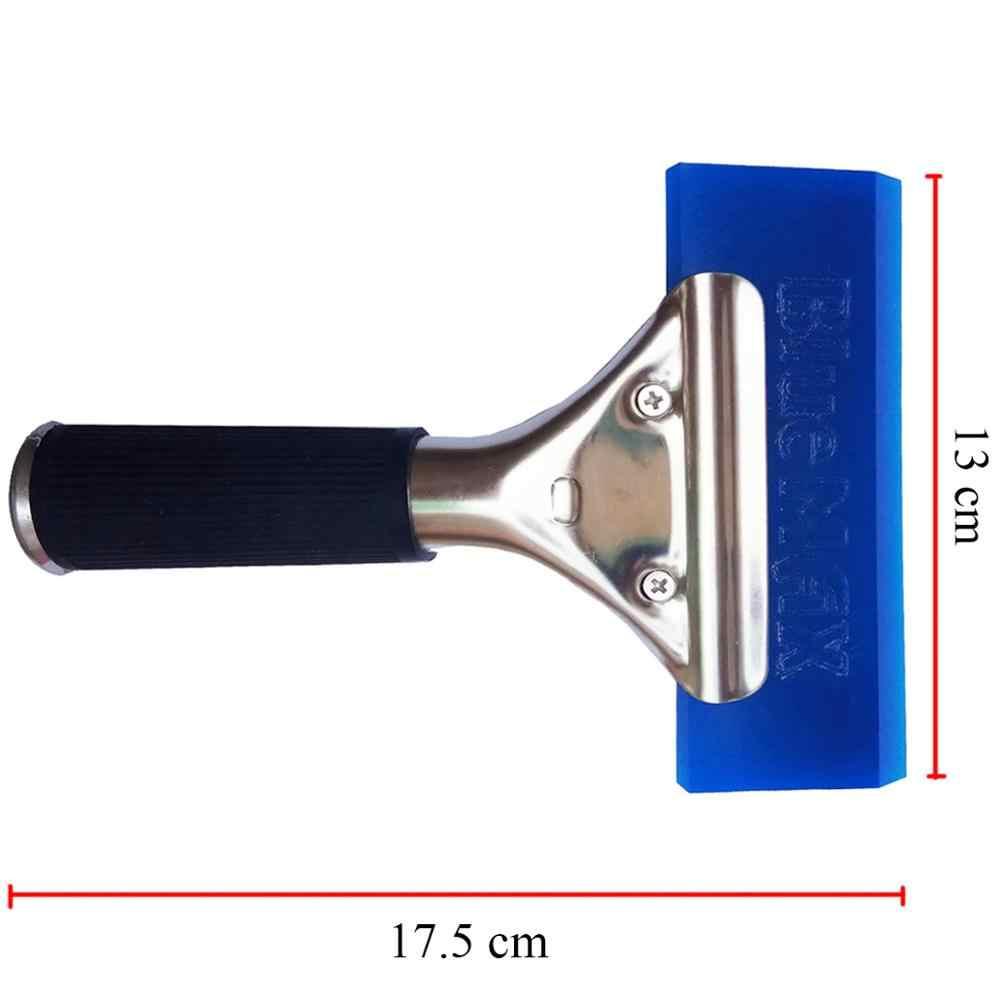 กันน้ำใบปัดน้ำฝนพิเศษใบมีดสแตนเลสหิมะพลั่ว 17.5*13 ซม. ด้านหน้ากระจกไม้กวาดล็อคการออกแบบ B13 + B02