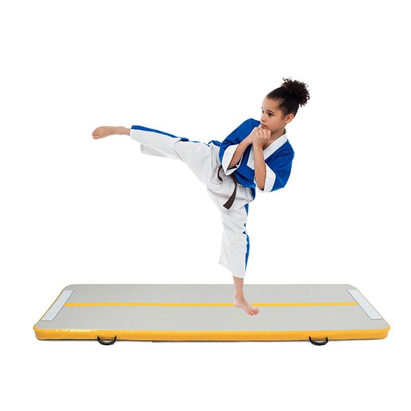 3m 4 m 5 m Piste Gonflable Matelas De Gymnastique Gymnastique Airtrack Plancher Yoga Jeux Olympiques Tumbling lutte Yogo Pompe À Air Électrique - 5