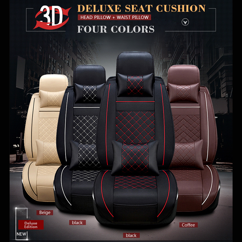SCOTABC Seat Cordoba Seat Cover Seat Cove for bmw e46 e90 PU Leather Seat Cover bmw Cubre Asientos Auto Storage Tidying ...