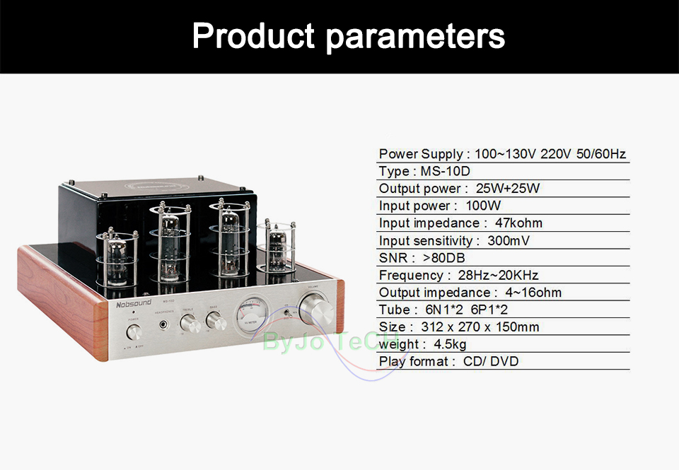 25 w * 2 amplificadores de vácuo
