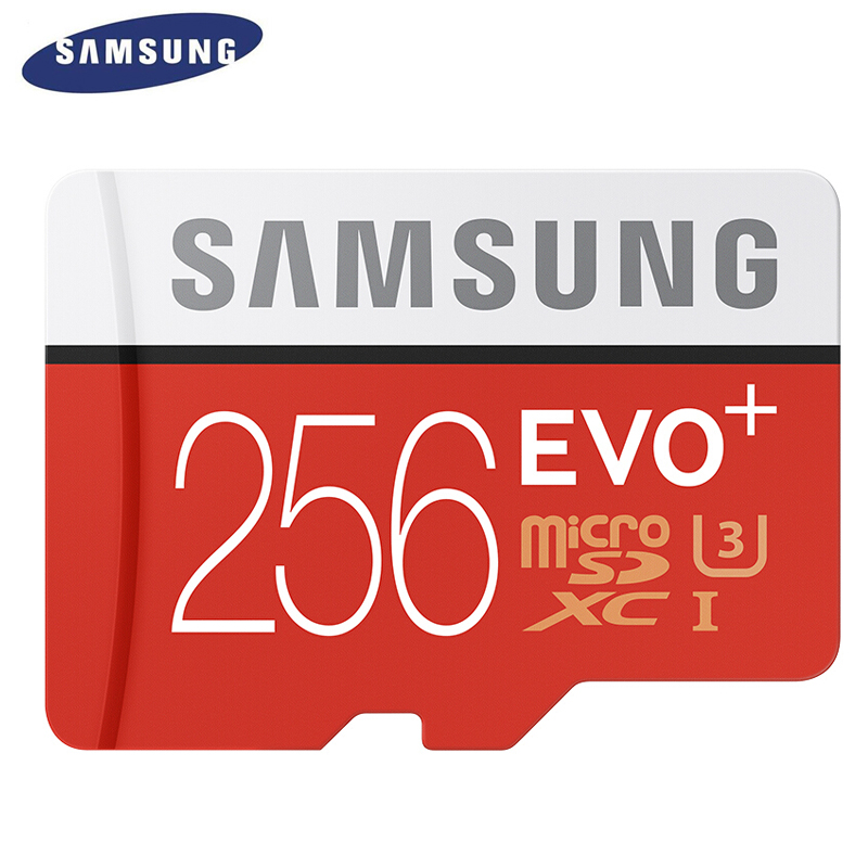 SAMSUNG Memory Card Micro SD 256GB 16GB 32GB 64GB 128GB SDHC SDXC Grade EVO+ EVO Class 10 C10 UHS TF Trans Flash Microsd