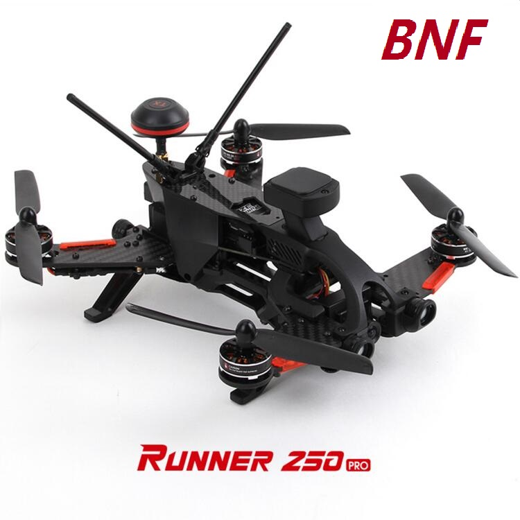 2017 Hot Walkera Runner 250 Pro BNF (without Remote Controller) Racer Quadcopter Camera Drone With OSD & GPS walkera runner 250 advance with 1080p camera racer rc drone quadcopter rtf with devo 7 osd camera gps 2 version