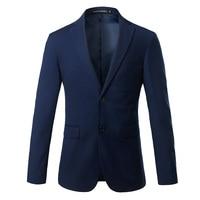 Pure Color Men's Formal Suits Jackets Size S 4XL Business Wedding Banquet Men Suit Coats