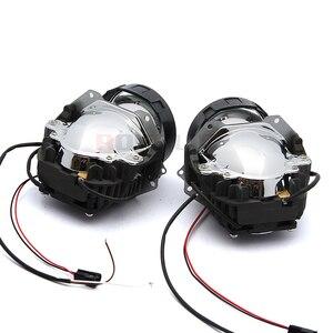 Image 5 - ROYALIN Car Styling Universale Bi Proiettore LED Fari Lente Con Il Circuito Integrato da 3.0 pollici Ad Alta e Bassa del Fascio Auto Del Faro Della Luce retrofit
