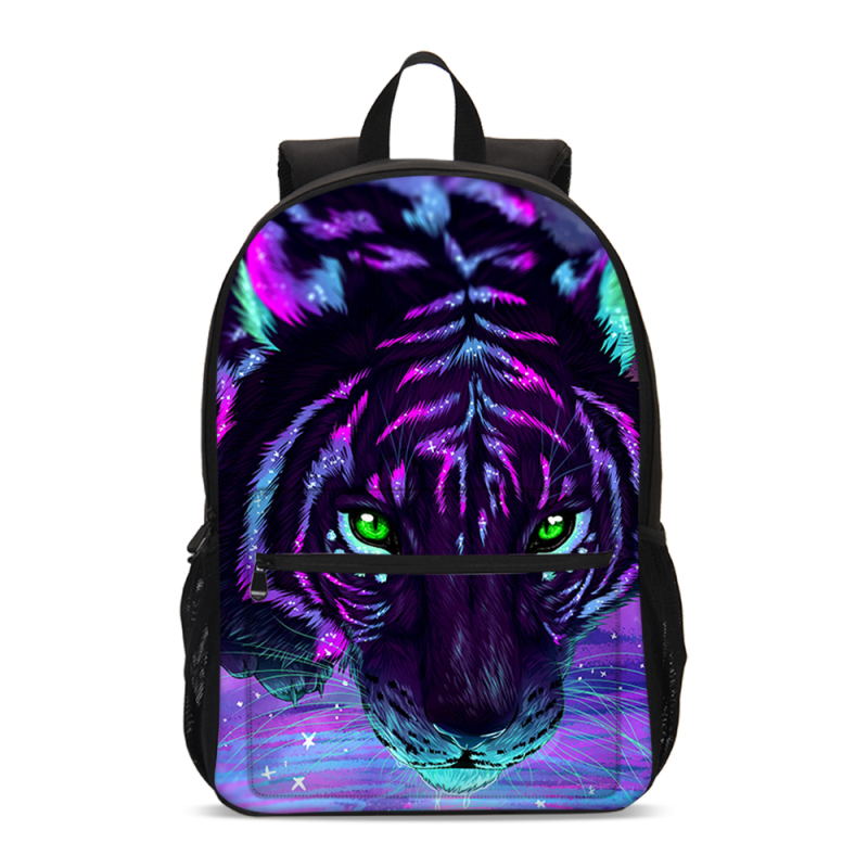 VEEVANV Prints-Backpacks Mochila School-Bags Animal Tiger-Lion Boys Fashiuon for Girls