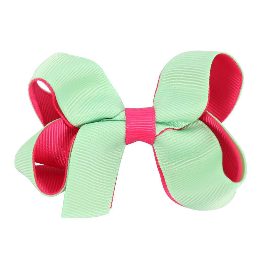 8pc set Patchwork Ribbon Baby Headwear Hairbow With Flat Knot Covered Safety Clip For Girl Handmade Barrettes Hairpins Headgear in Hair Accessories from Mother Kids