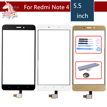 купить Original For Xiaomi Redmi Note 4 Touch Screen Digitizer For Redmi Note 4 Touch Panel Sensor LCD Display Front Glass Note4 по цене 238.25 рублей