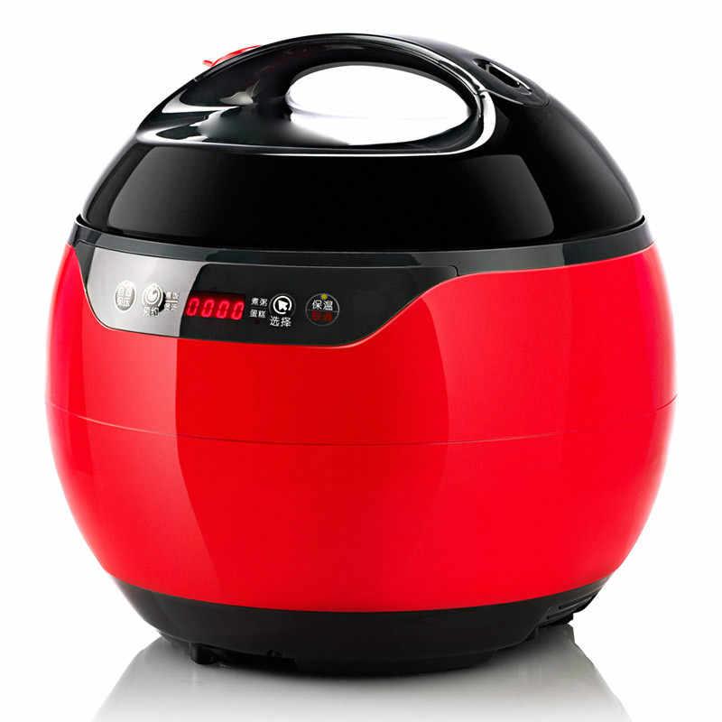 Pressure Cooker Listrik Penanak Bertekanan Listrik Menggunakan 3L-Liter Beras 1-2 Orang.