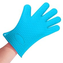 Silicone Heat Resistant Multi-Purpose Grilling Bbq Gloves for Cooking Baking Opening Cans Baking Kitchen Tools Bakeware Decor