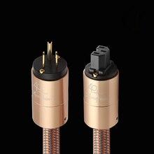 하이 엔드 전원 코드 AU 전원 케이블 hifi 미국 표준 오디오 CD 앰프 amp EU US 플러그 전원 라인