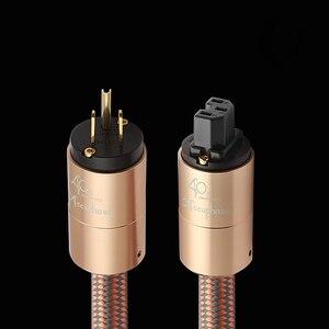 Image 1 - Yüksek son güç kablosu AU güç kablosu hifi amerikan standart ses CD amplifikatör amp ab abd fiş güç hattı