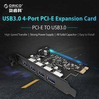 ORICO PVU3 4P Desktop 4 Port USB3 0 PCI Express Card For Laptop Black