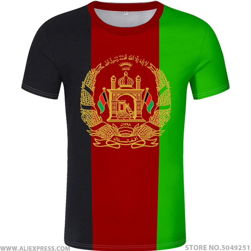 AFGHAN t shirt free custom name number afg slam afghanistan arab t-shirt persian pashto islamic print text photo flag AF clothes