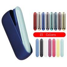 JINXINGCHENG 10 шт. в партии 15 цветов для Iqos 3,0 Магнитный боковой Чехол защитный держатель Крышка Аксессуары