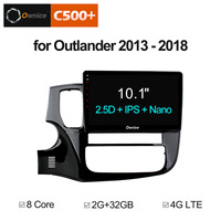 Ownice C500+ G10 Android 8.1 Octa Core For MITSUBISHI OUTLANDER 2013 2014 2018 Car DVD Player GPS Audio 2.5D Screen 32G ROM