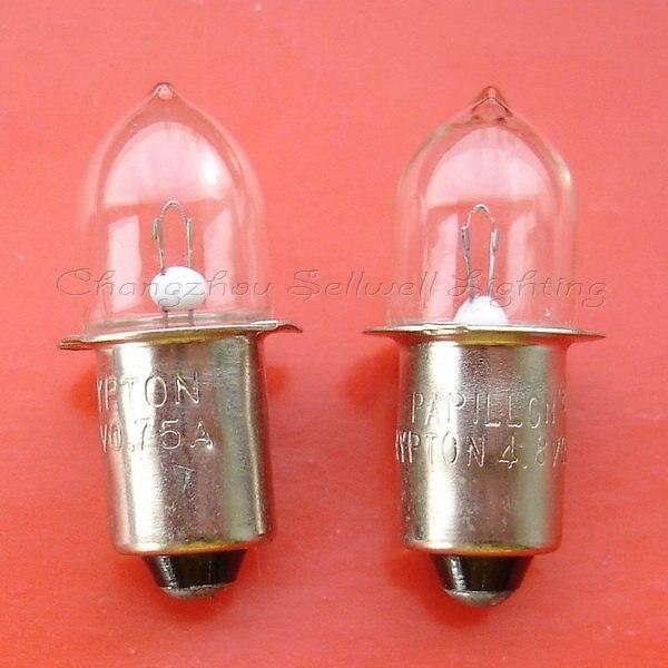 Ny! Miniature lampe pære 4.8v 0.75a P13.5s A528