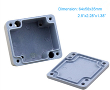 Small IP67 Waterproof and Dustproof  Aluminum Box /Junction Box/ Control Enclosure 64*58*38mm FA1 2015 hot sale saipwell 220 155 95mm ip67 waterproof aluminum enclosure box 4pcs screws with sp ag fa14