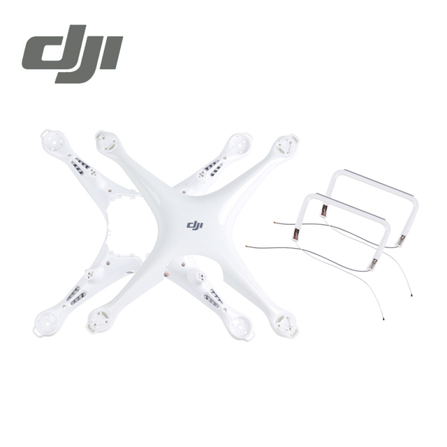 DJI Phantom 4 Pro Body Upper Shell Middle Landing Gear For Phontom4 Housing Repair