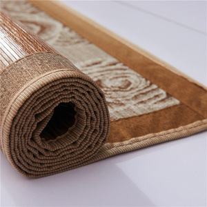 Image 4 - Vescovo Cool summer senior mattress Double sided folding wrapping1.3/1.5/1.8/2.0m 100% Pure natural bamboo mat
