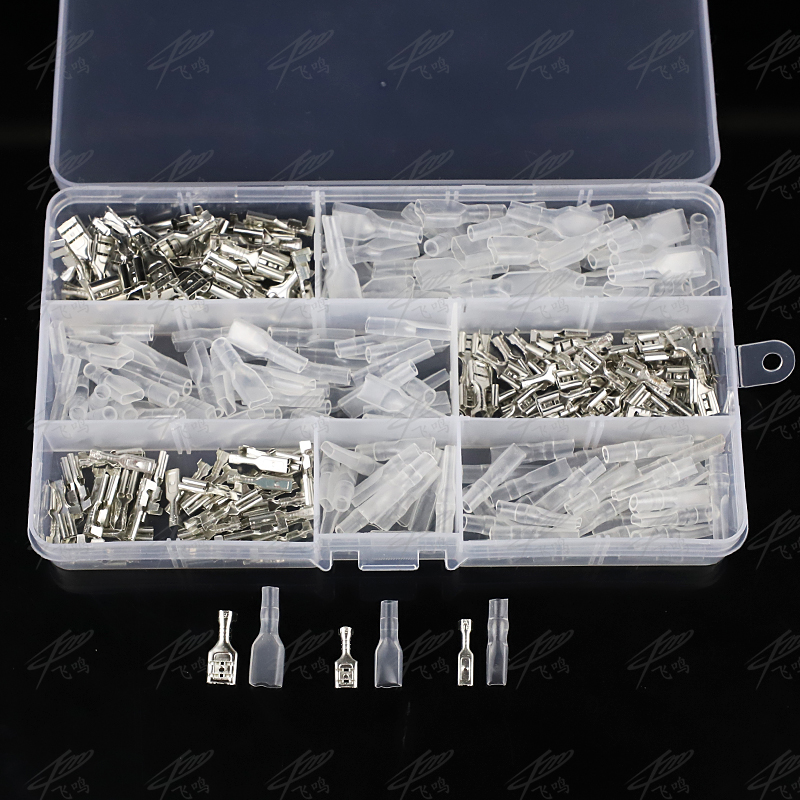 300Pcs 6.3/4.8/2.8 Insulated Electrical Wire Terminal Crimp Spade Electrical Connectors Assorted Set skmei 2017 new popular brand men watches fashion analog quartz watch 50m waterproof auto date black dials quality leather starp