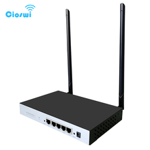 4 lan metal kasa kablosuz WIFI yönlendirici tekrarlayıcı 300 Mbps ethernet portları ile 64 MB ağ modem
