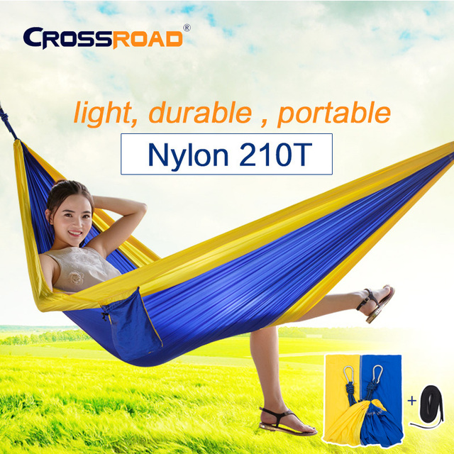 NEW Garden swing Sleeping bed small single hanging chair portable hammock parachute nylon rede swing chair  Camping hamaca kids