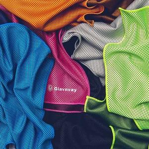 Image 5 - Xiaomi Giavnvay 30x102cm Schnell trocknend Sport Handtuch Schweiß absorbent Cool Reise Jogger Tuch Camping Schwimmen gym Waschlappen 6 Col