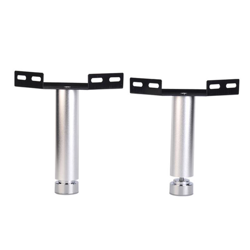 2Pcs Aluminum Leveling Feet Leg Connecting Corner Bracket Bed Rail Joint Connection