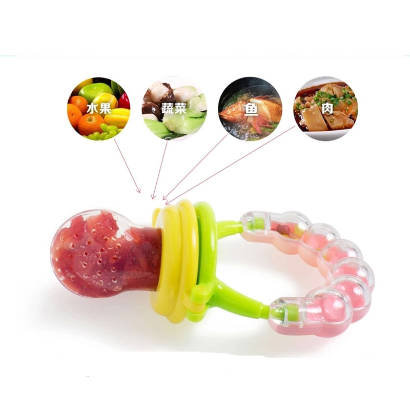 1PCS Baby Pacifier Feeding Supplies Fresh Food Nibbler Bell Safe Baby Supplies Feeding Tool Infant Feeding Supply Free Shipping