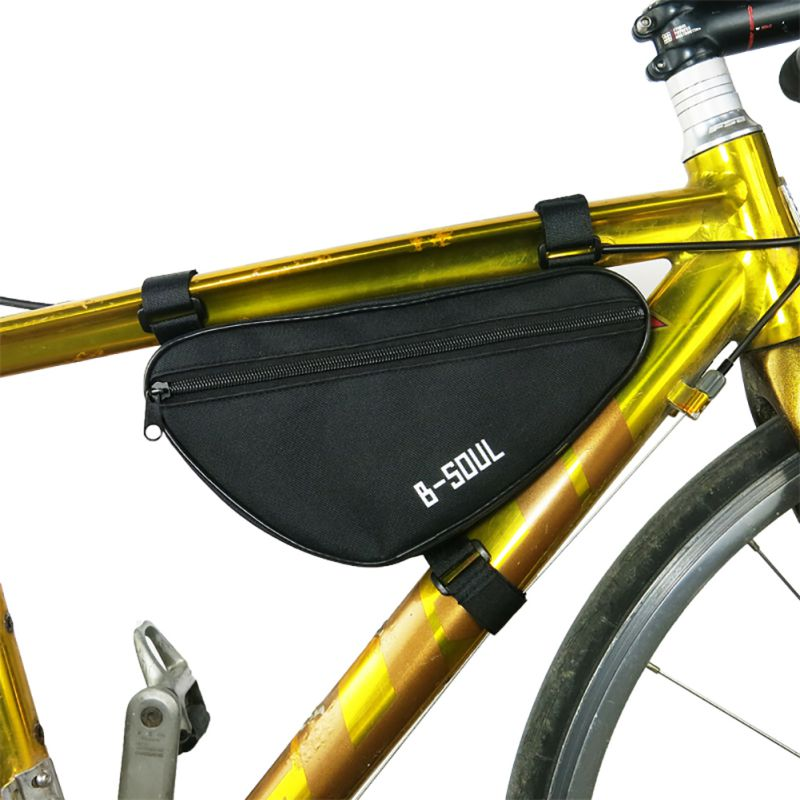 Bicycle Cycling Triangle Bag Outdoor Bike Front Tube Frame Bag Pouch Waterproof