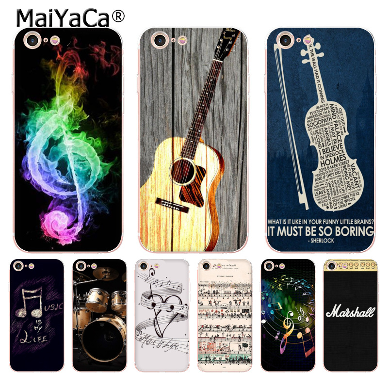 Hot Sale Maiyaca Music Lover Gift Cool Drums Guitar Music Note Phone