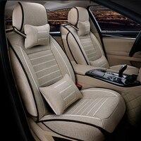 XWSN linen Car Seat Covers for alfa romeo 159 giulietta mito car accessories