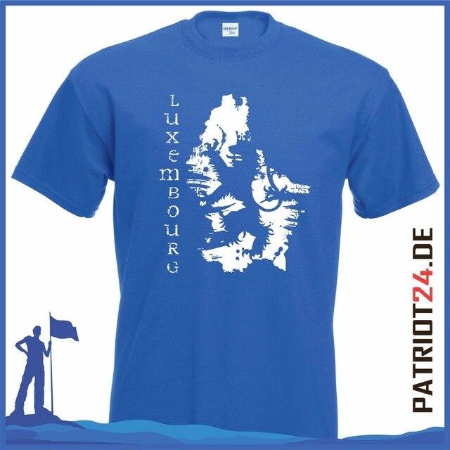 0c1228dccbc6 Männer T-shirt mode zeichentrickfiguren Fußball-t-shirt hemd Luxemburg Duke  Henry Homme