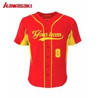 Orange Color Mens Short Sleeve Baseball Jersey Custom 100 Polyester Baseball Jerseys
