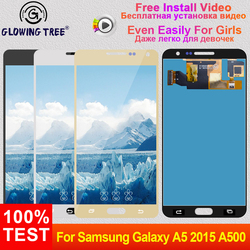 Adjust For Samsung Galaxy A5 2015 A500 A500F A500FU A500M A500Y A500FQ Touch Screen Digitizer Glass LCD Display Panel Assembly