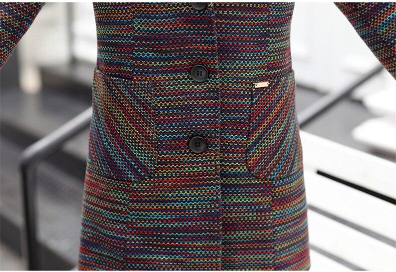 Donne Cappotti Impermeabili Blue Vento Giacca Color Ch755 Elegante red Color Manica Di Con Mezza Cappuccio 2018 A Monopetto Autunno Trench Nuovo E Età Lunga 6zw6RrUpq