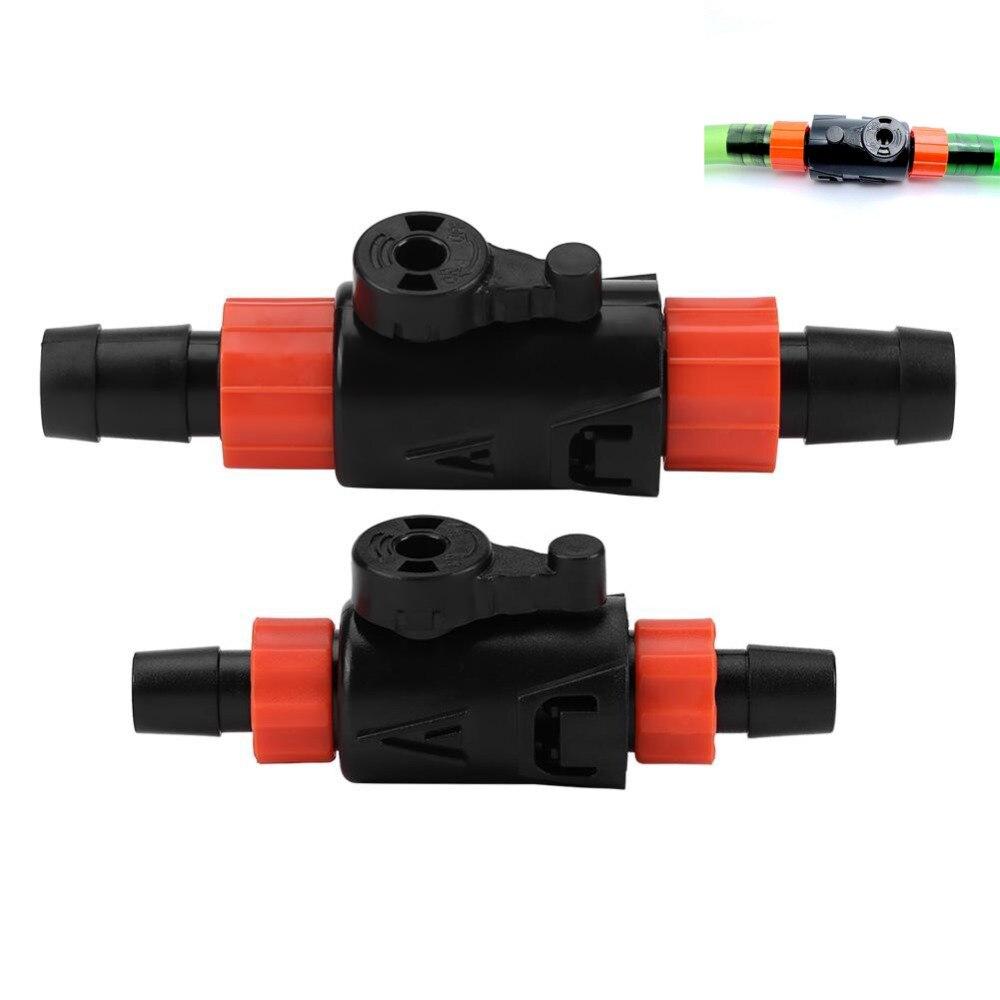 Aquarium Hose Pipe Connector Fish Tank Water Flow Control Valve Aquarium Filter Connector Adapter 16-22mm