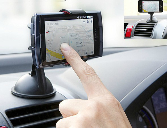 ORBMART 2 in 1 Universal Car Holder Berdiri + Malas Bed Telepon - Aksesori dan suku cadang ponsel - Foto 4