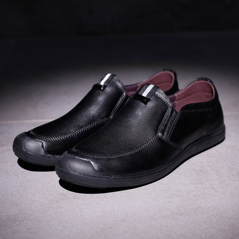 2017 Spring Handmade Genuine Leather Men Casual Oxfords Shoes Round Toe Low Tops Slip On Male Comfortable Brand Flats Shoes men party shoes oxfords 2015 hot men s genuine leather shoes brand sapato masculino couro social round toe palladium shoes 38 46