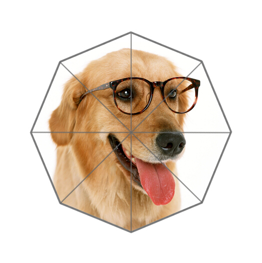 Fashion Design Umbrella Custom Cute Dog Folding Umbrella For Man And Women Free Shipping UPC-170