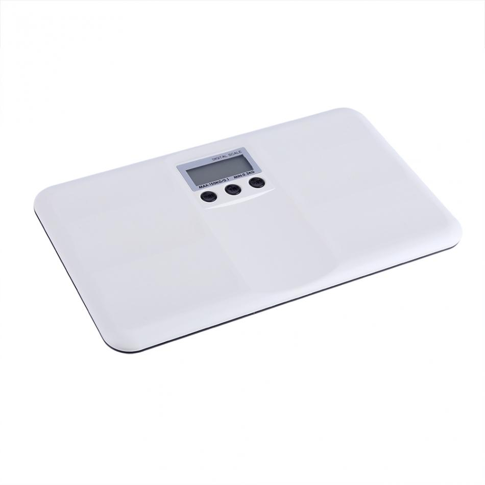 Newstyle LCD Digital Electronic Scale Baby Weighting Scale 0.3kg-150kg Mini Multifunction Low Alarm Kids Pet Body Weight Meter
