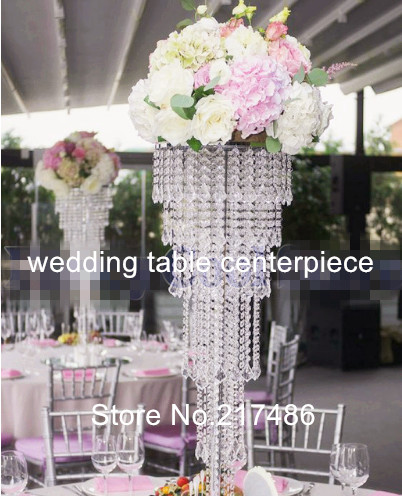 New Style Tall Crystal Chandelier Stand Silver Flower For Wedding Aisle Decor In Glow Party Supplies From Home Garden On Aliexpress Alibaba